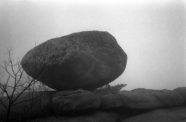 boulder, on top of Old Rag