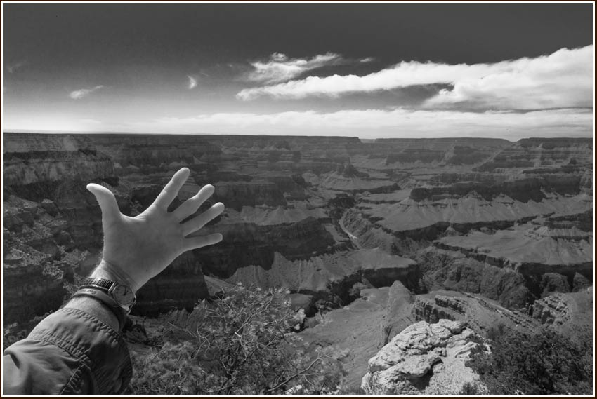 hand,Colorado River Grand CAnyon