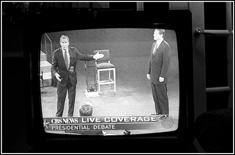 Bush Gore debate