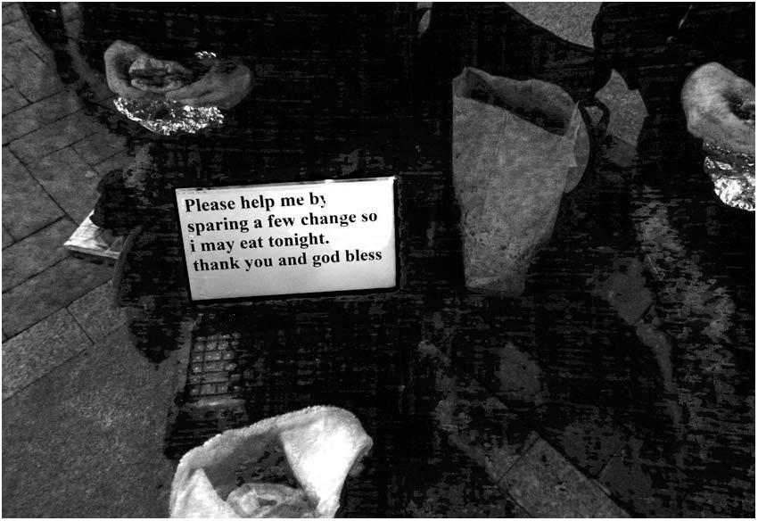panhandling in 21st century
