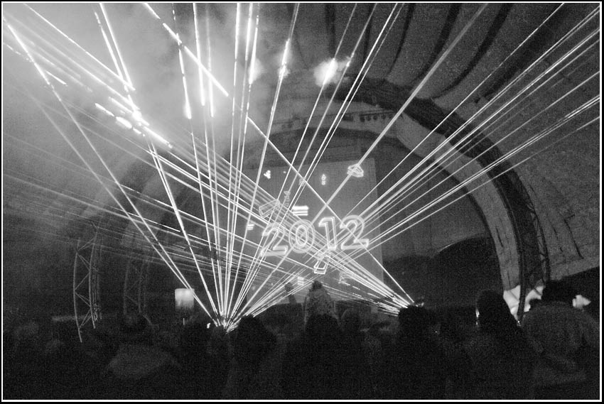 laser show new year