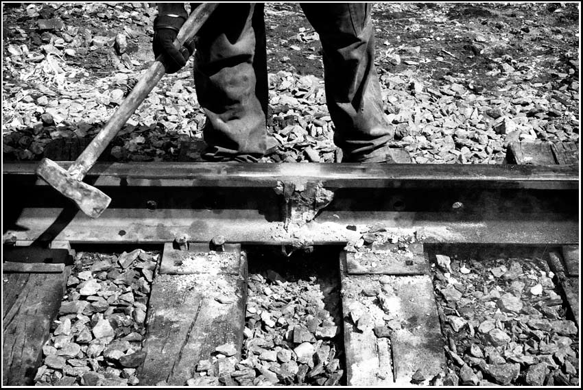railroad track weld