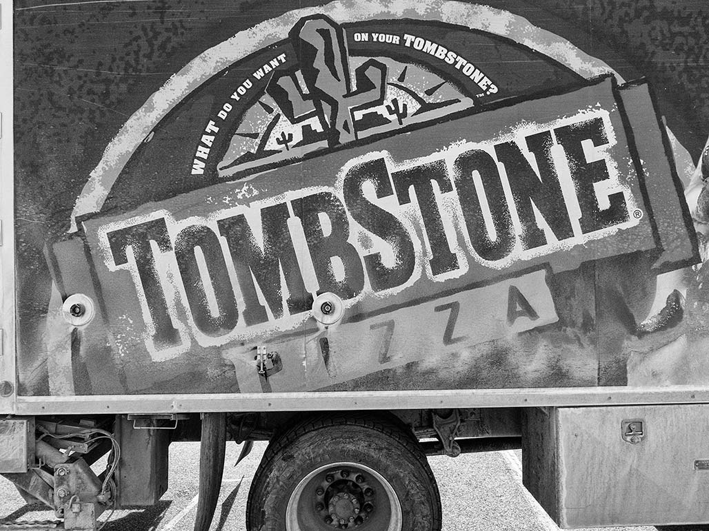 tombstone pizza truck