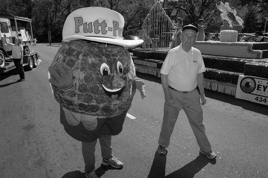 Buster Ball of Putt Putt