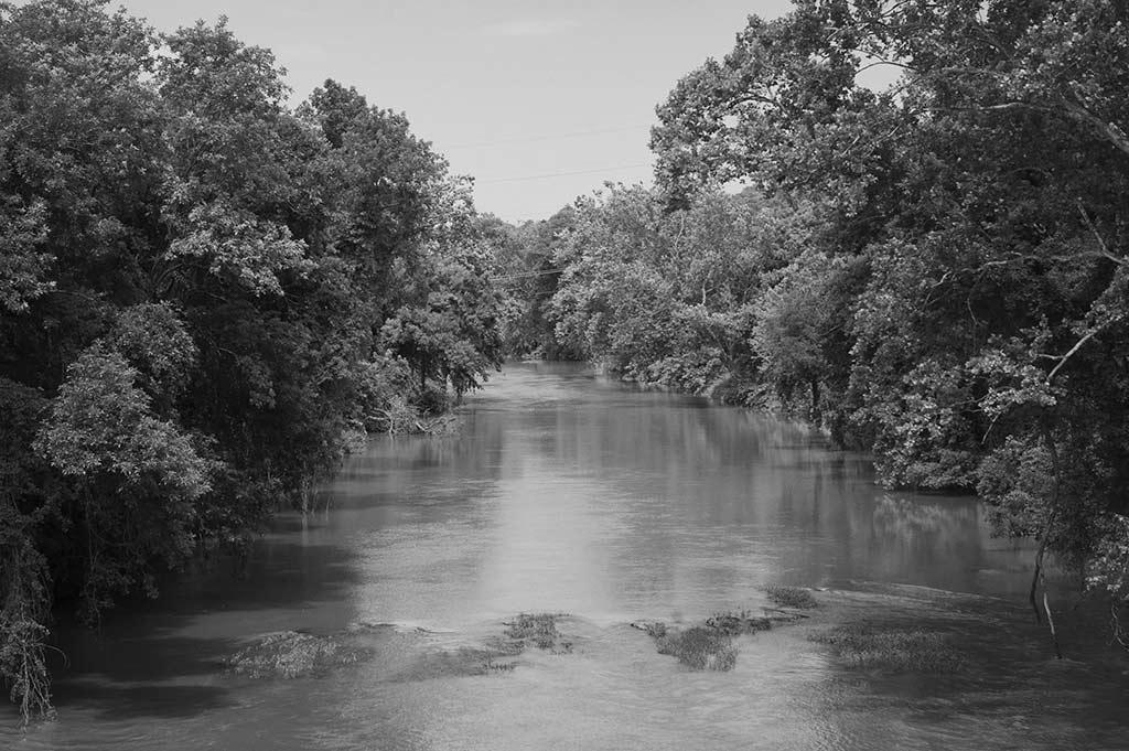 upstream from Free Bridge