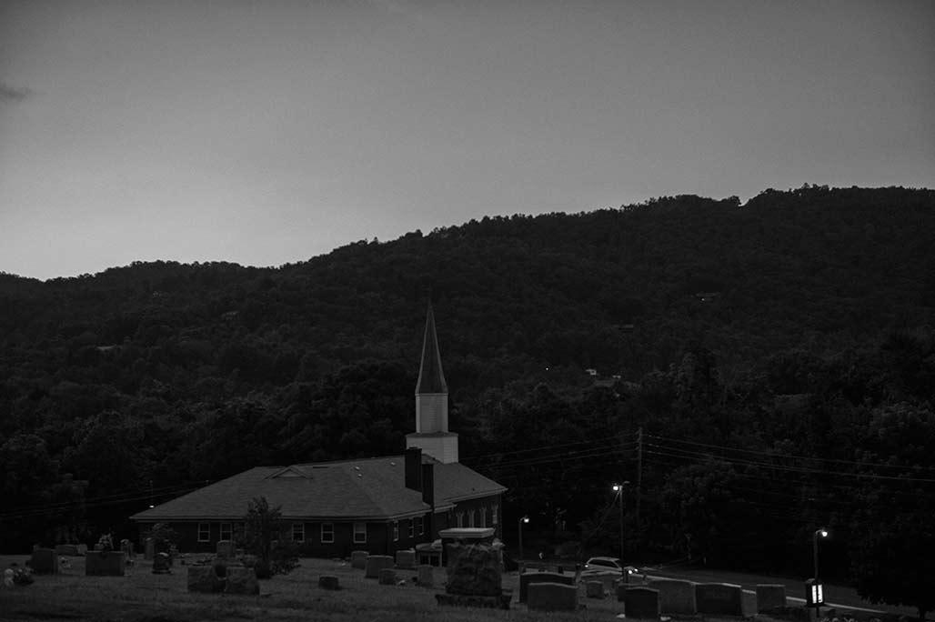 Beaverdam Baptist twilight