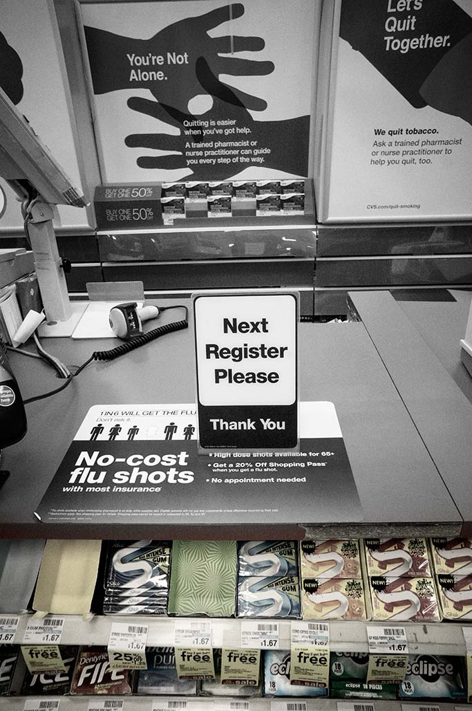 CVS Counter signs