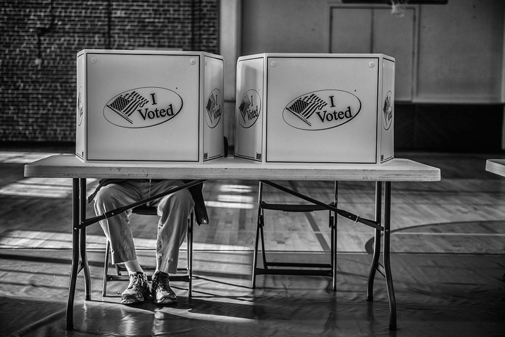 Recreation Precinct, paper ballot