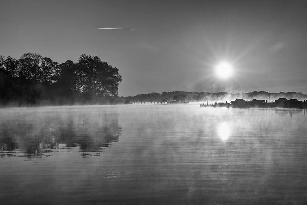 Town Creek sunrise