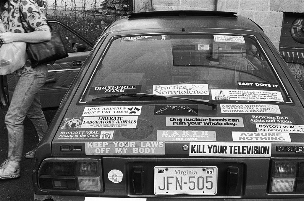 bumper stickers