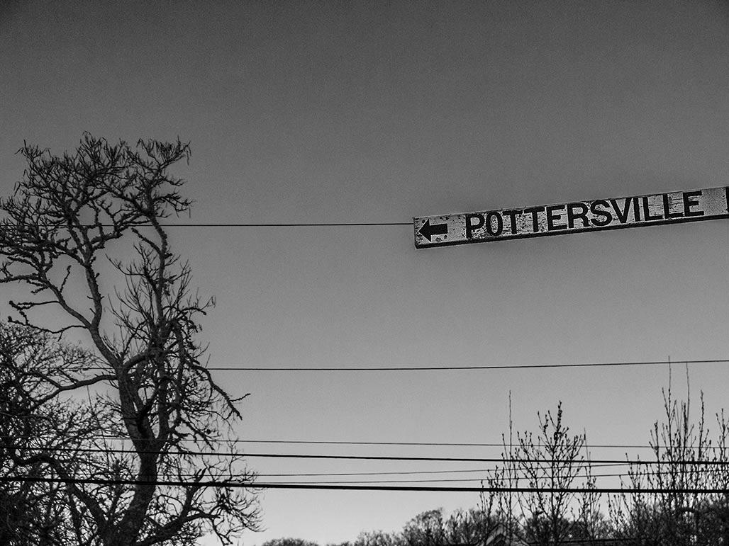 Pottersville sign