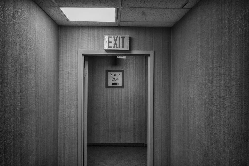 anonymous hallway