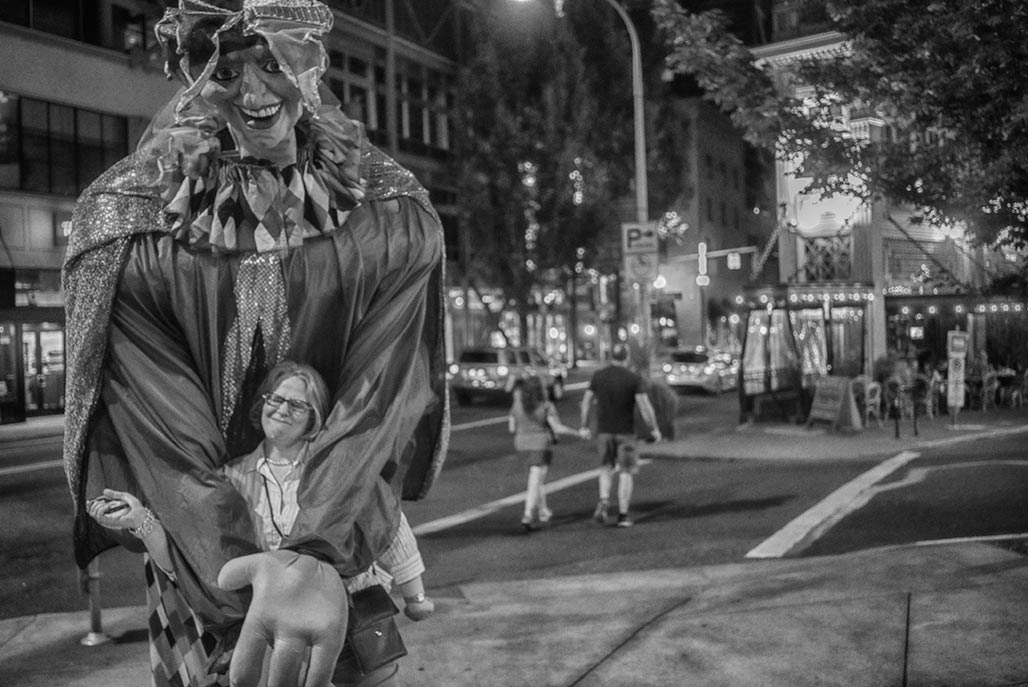 Giant Portland Clown