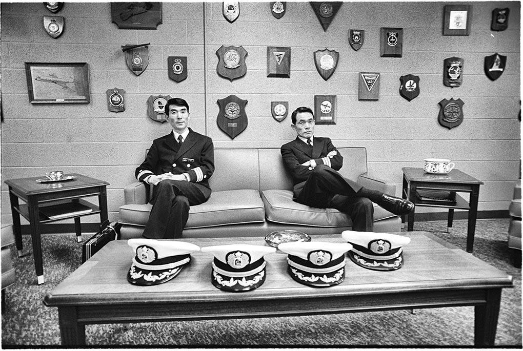 Japanese officers