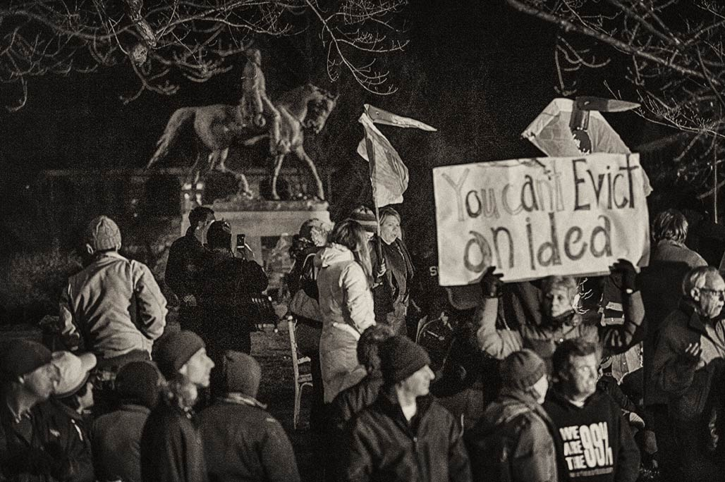 Occupy gets evicted