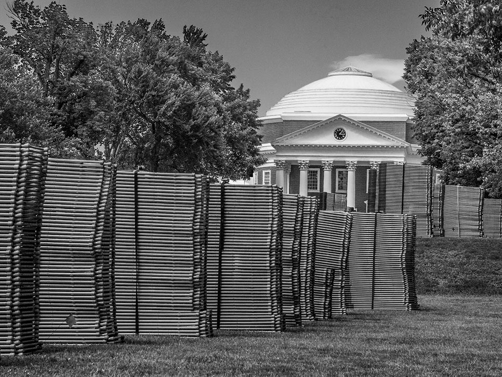 Rotunda, folding chairs