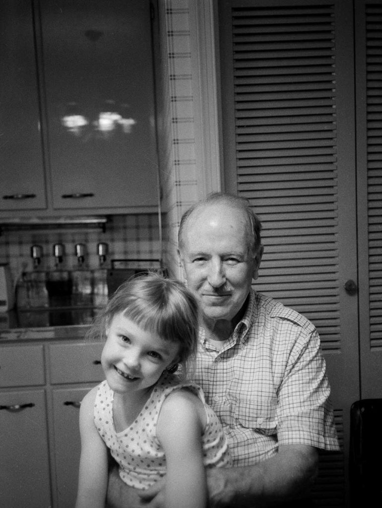 grandfather & granddaughter