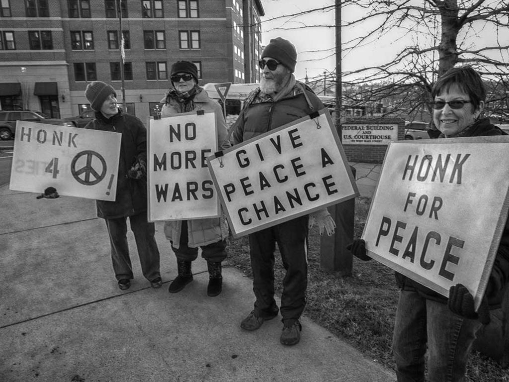 honks for peace