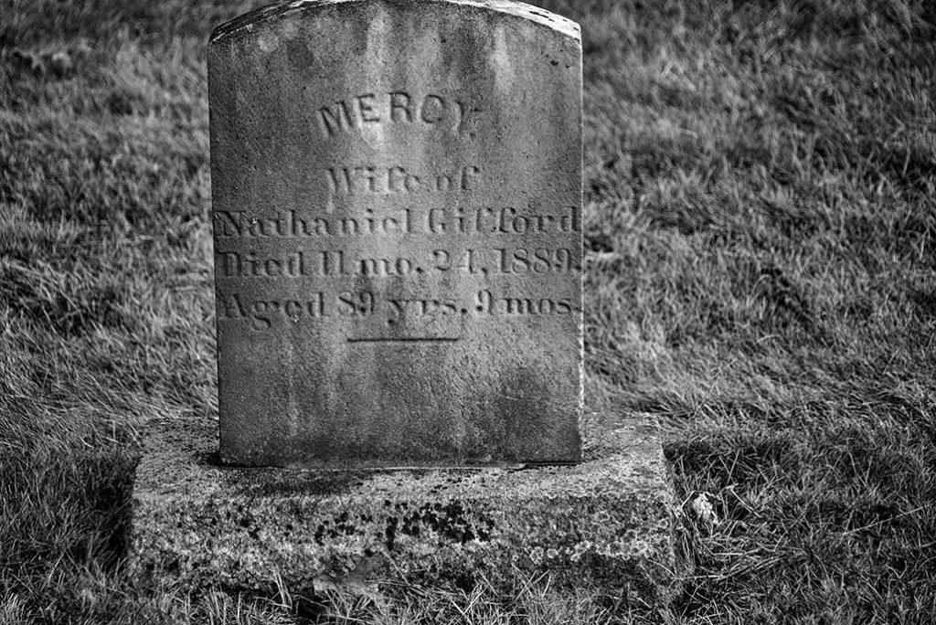 graveyard stone